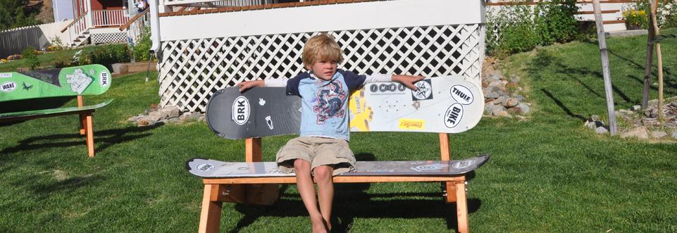 snowboard bench frame plans